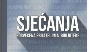 Predstavljanje knjige SJEĆANJA posvećena prijateljima Biblioteke