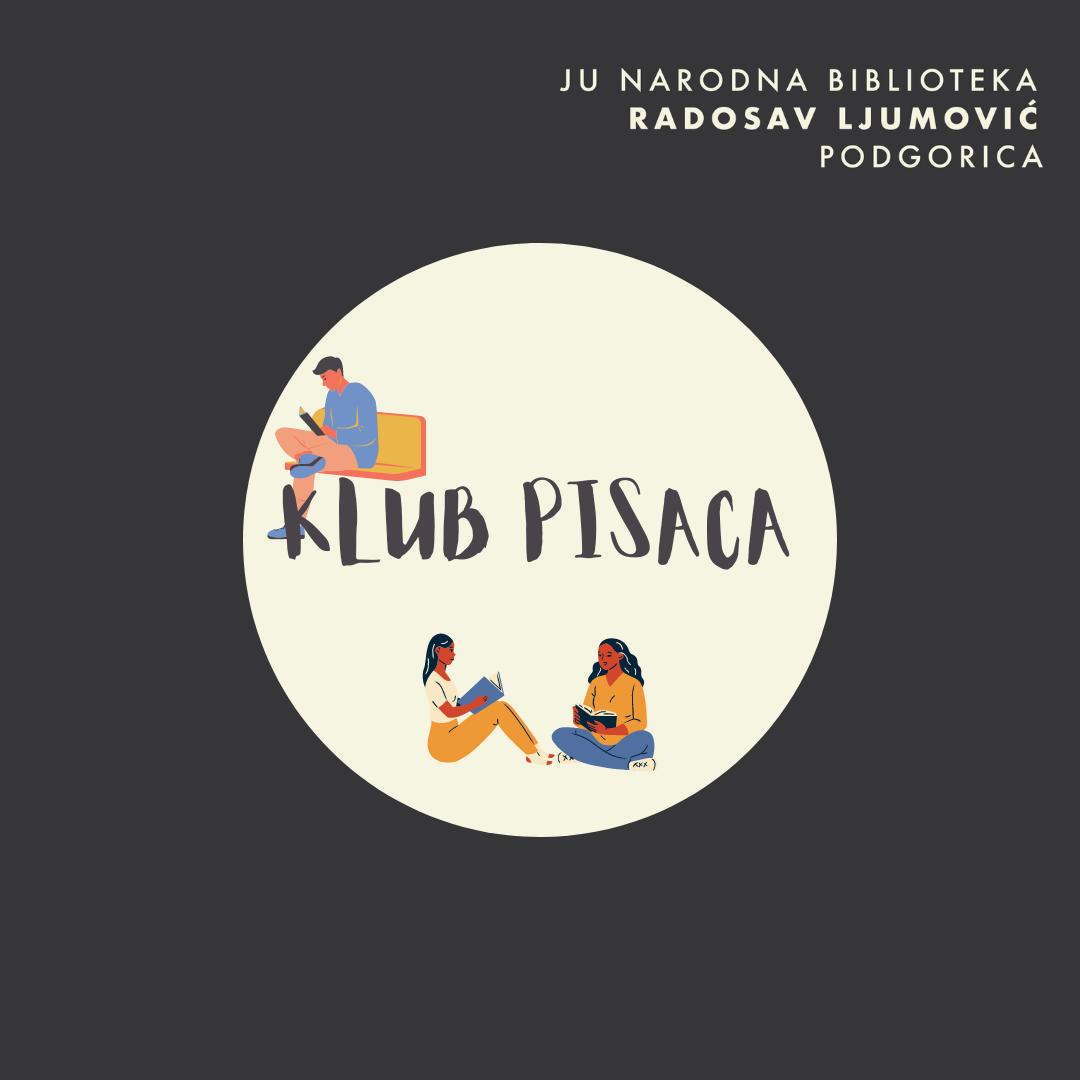 """Poziv za Klub pisaca Biblioteke """"Radosav Ljumović"""""""